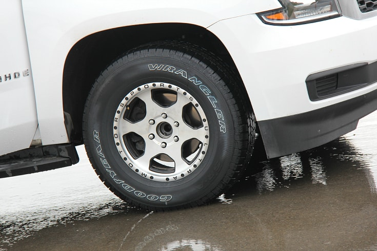 Cooper Tires Discoverer SRX comparison test drive wet pad