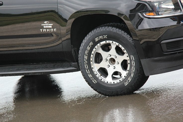 Driving the Test Track with Cooper Tires Discoverer SRX