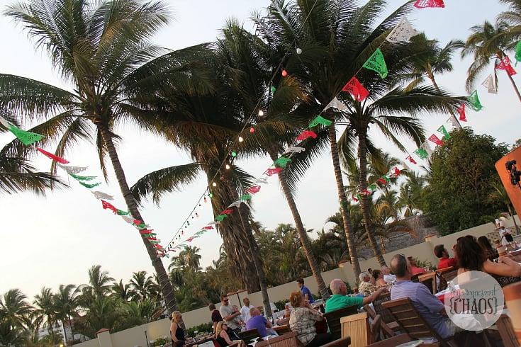 Grand Velas Riviera Nayarit food fiesta night