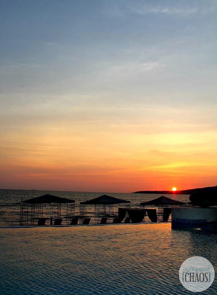 Grand Velas Riviera Nayarit mexico sunset