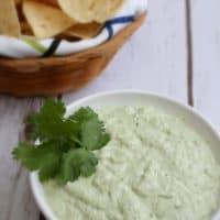 Greek Yogurt Jalapeño Guacamole