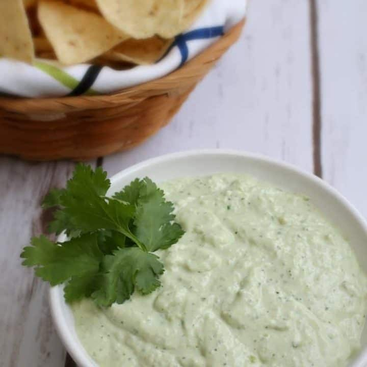 Greek Yogurt Jalapeño Guacamole recipe