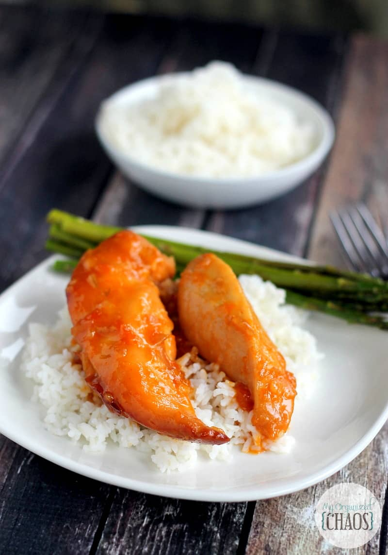 Slow Cooker Apricot Glazed Chicken recipe