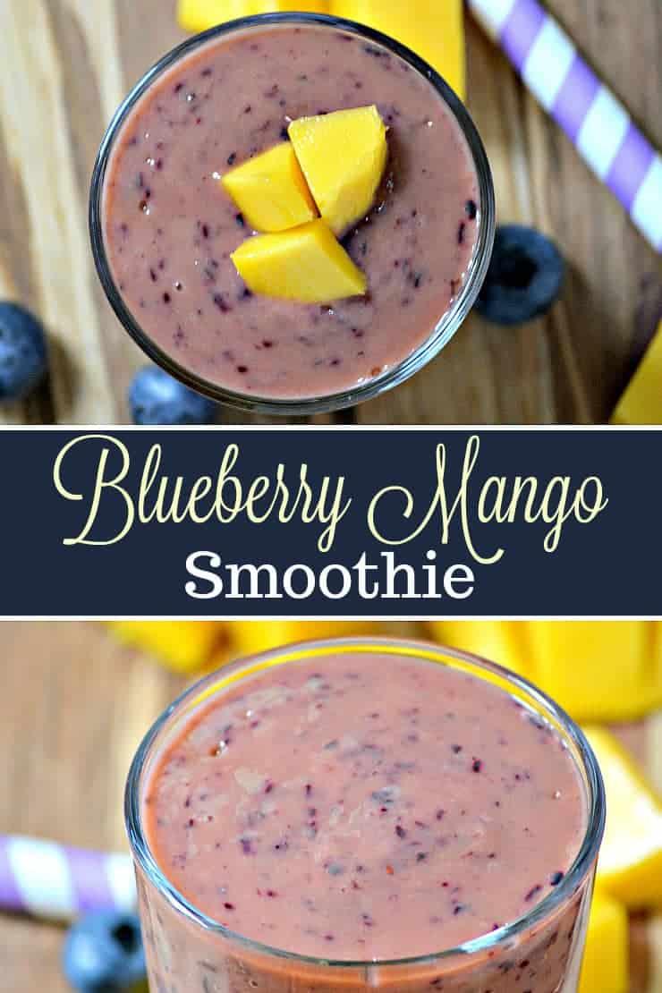 Blueberry Mango Smoothi