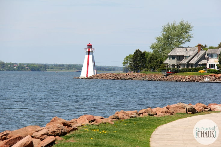 charlottetown lighthouse travel canada PEI