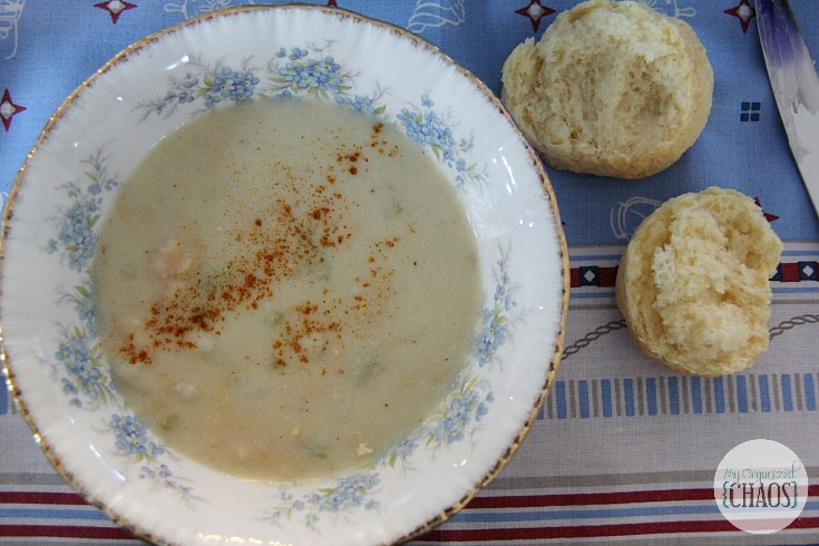 clam chowder happy clammers experience PEI Canada travel