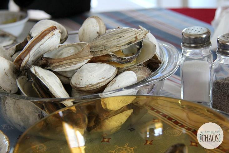 clam dinner prince edward idland travel canada