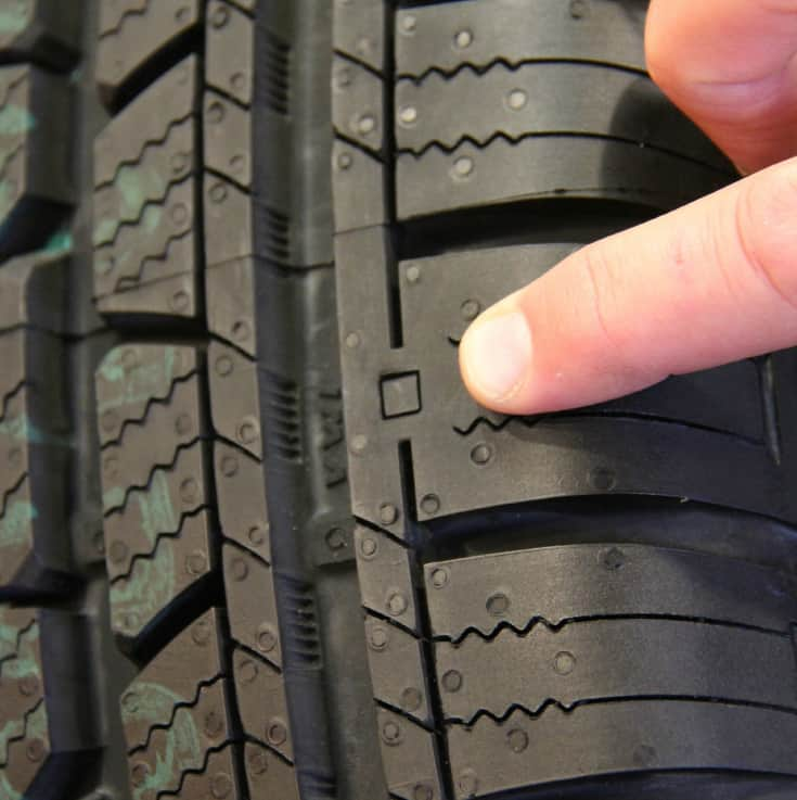 cooper tires wear square test drive