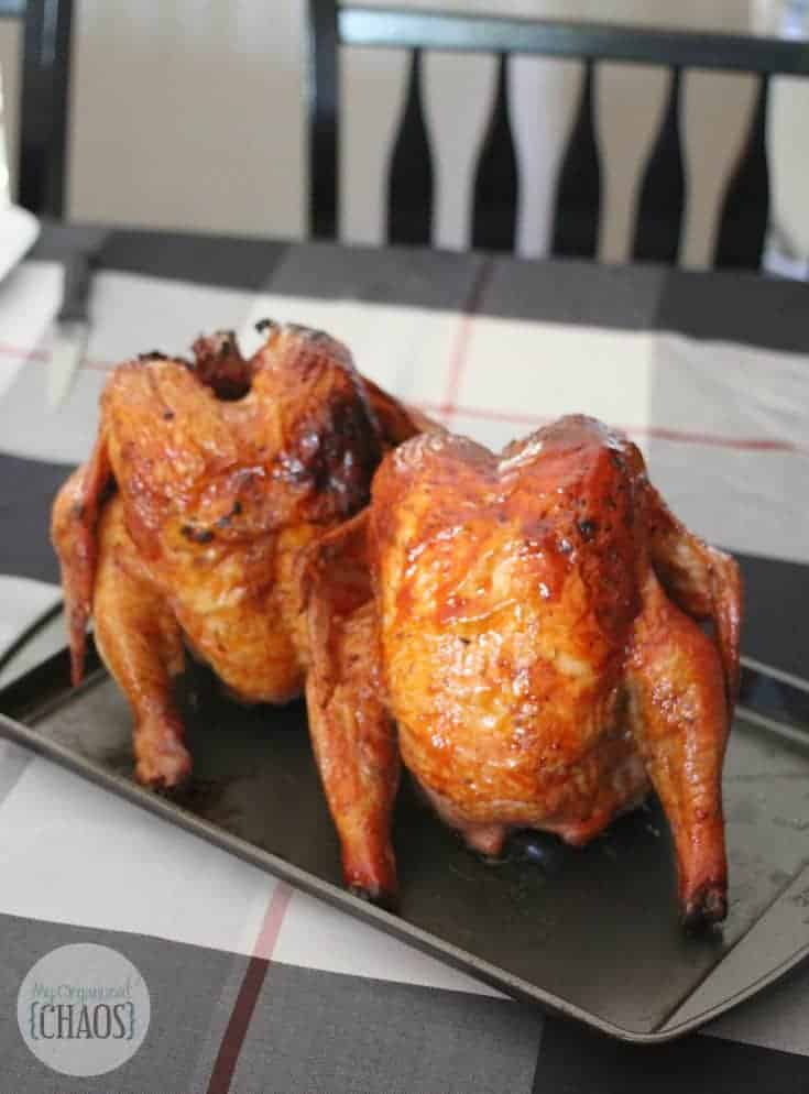 easy Beer Can Barbecue Chicken