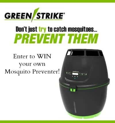 GreenStrike Mosquito Preventer Giveaway – $299 Value