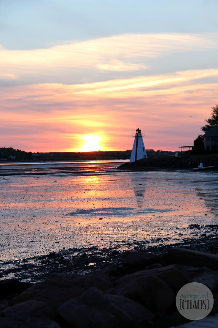 prince edward ialnd lighthouse sunset travel canada