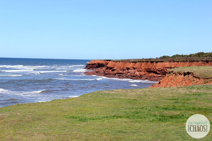 prince edward island shores beach red rock travel canada