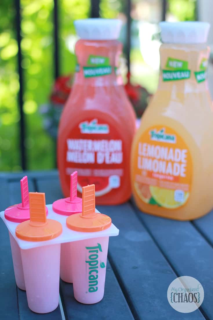 summer fun with Tropicana Watermelon and Lemonade with Tangerine