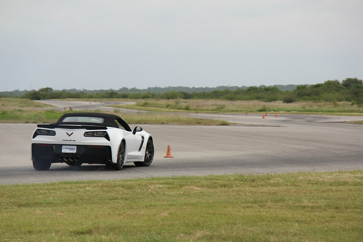 unser racing cooper tires test track race car driver