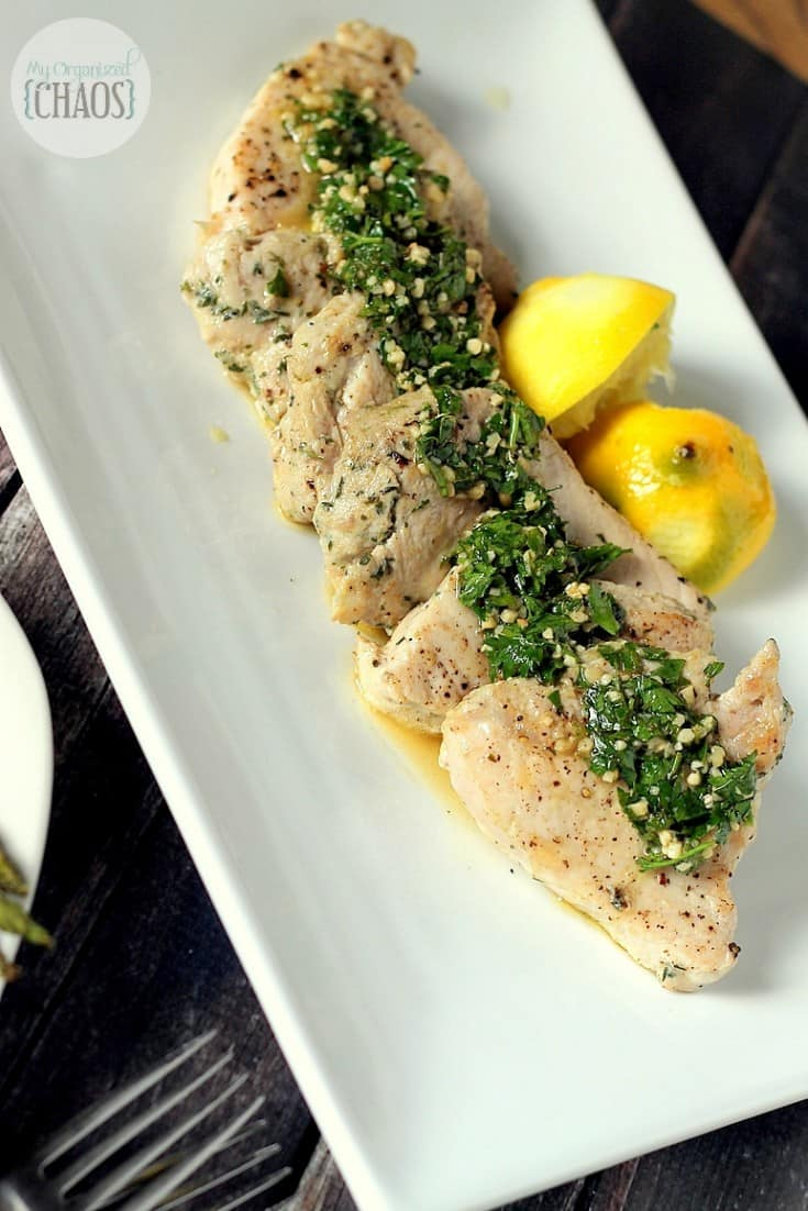 Herbed Lemon Pork dish