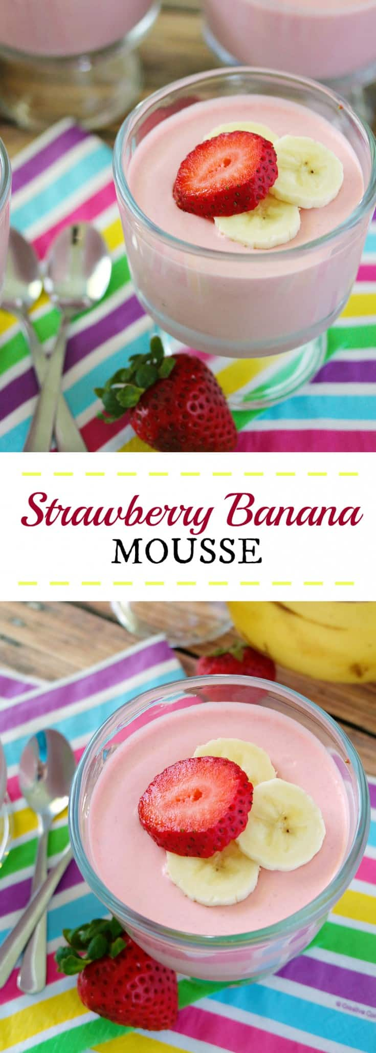 Strawberry Banana Mousse Recipe