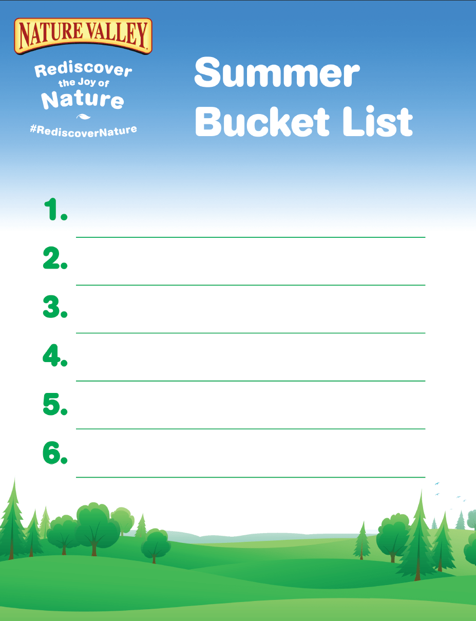 Summer-Bucket-List-Nature-Valley-Rediscover-Nature