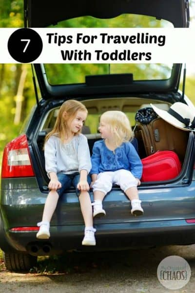 7 Tips For Travelling With Toddlers
