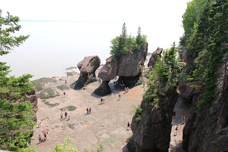 hopewell rocks new brunswick letsgonb