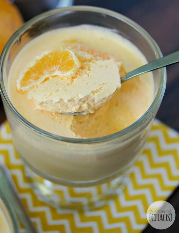 orange creamsicle cheesecake mousse 1