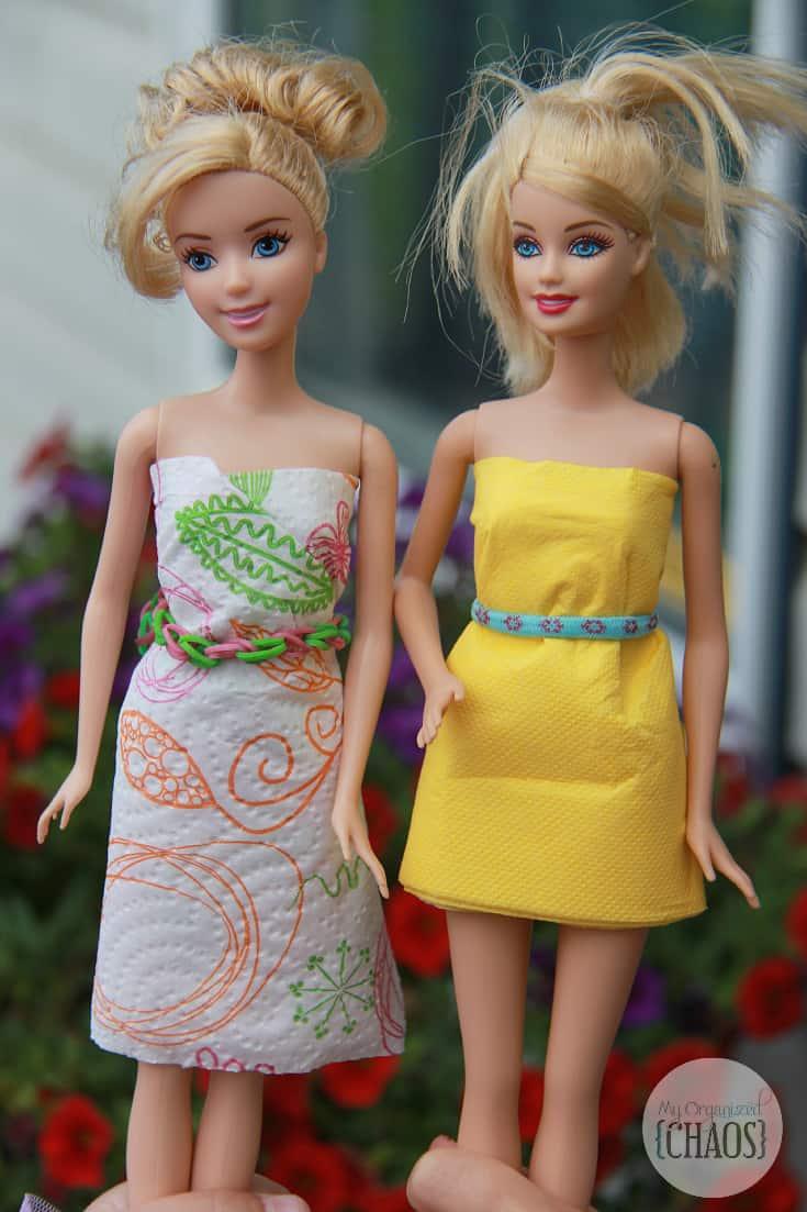 renova coloured paper towel craft doll dress canada