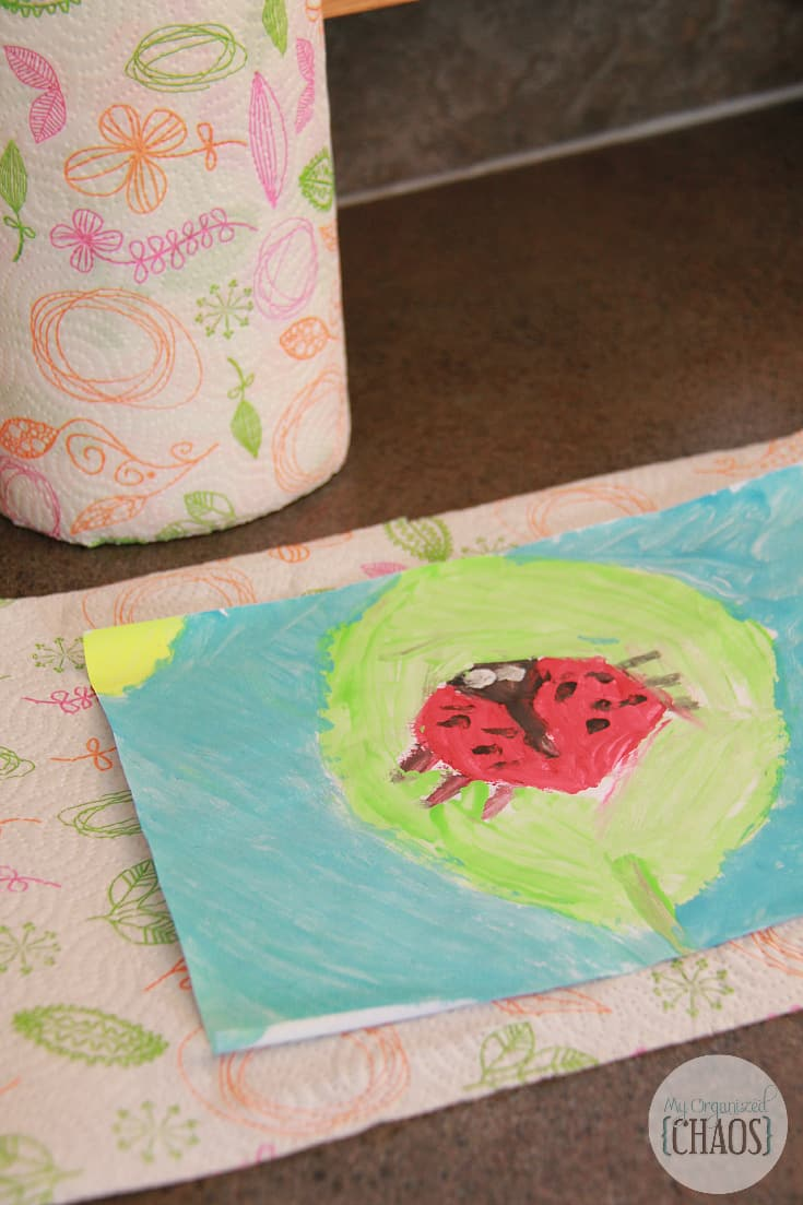 renova patterned paper towel crafts canada
