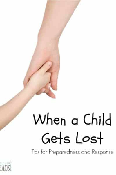 When a Child Gets Lost