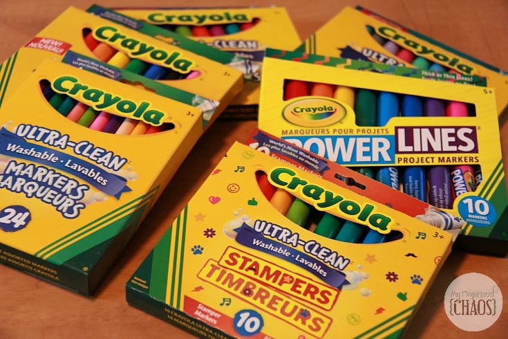 Back to School with Crayola review