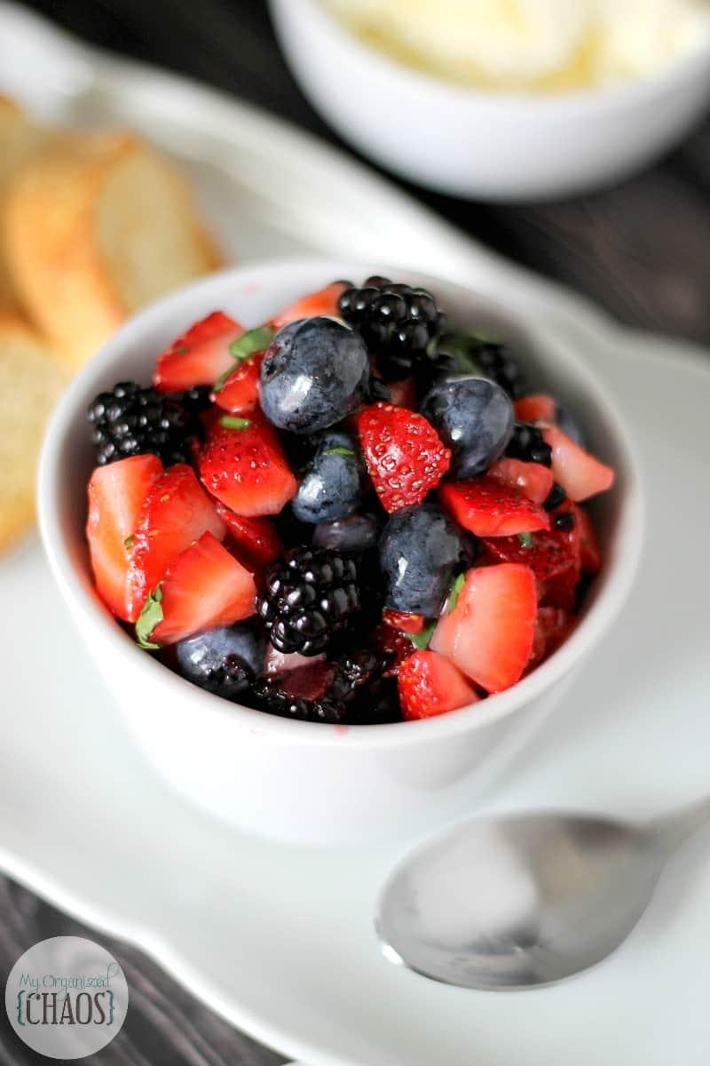 Easy Summer Berry Salsa