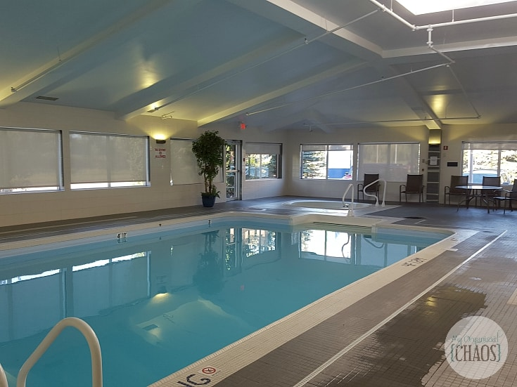 Holiday Inn Express & Suites Edmonton review pool