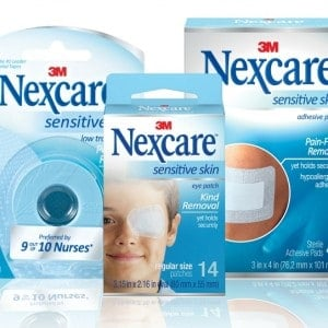 Nexcare Sensitive Skin Products