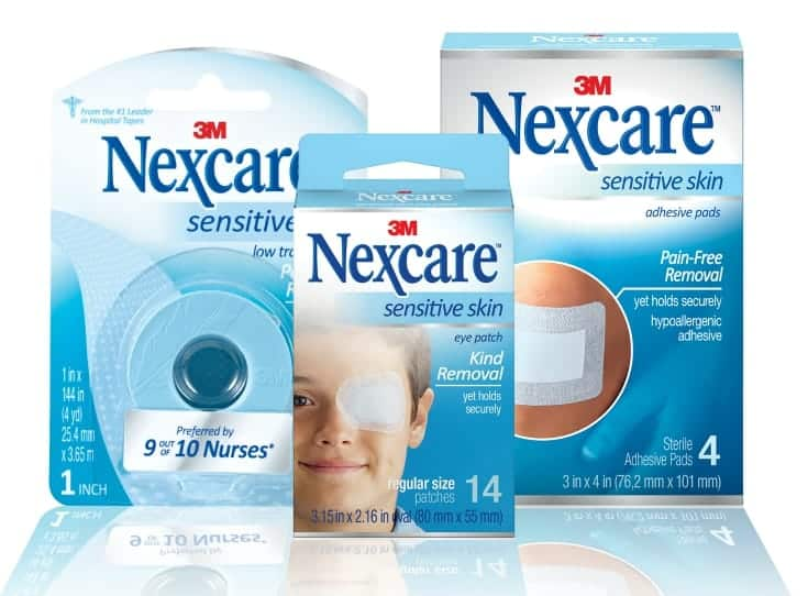 Nexcare_sensitive-skin-products-review
