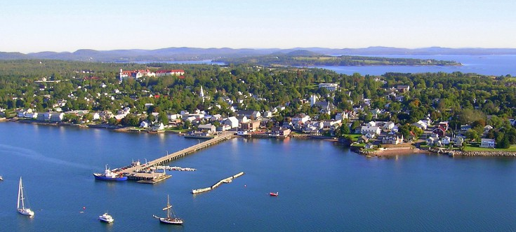 Town of St. Andrews by-the-Sea in New Brunswick
