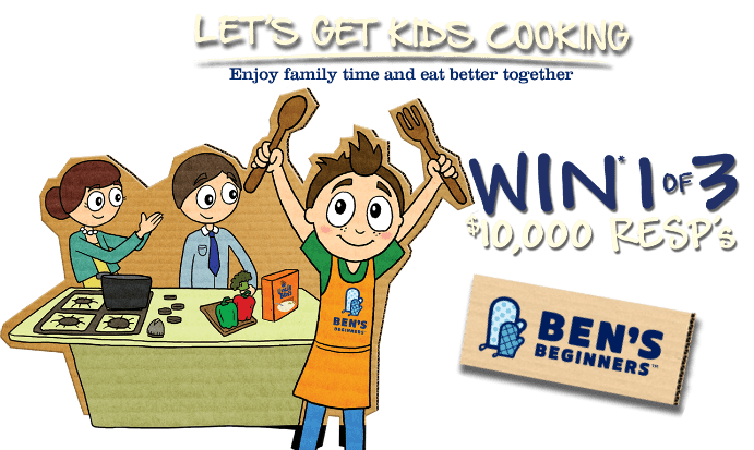 ben's beginners get kids cooking