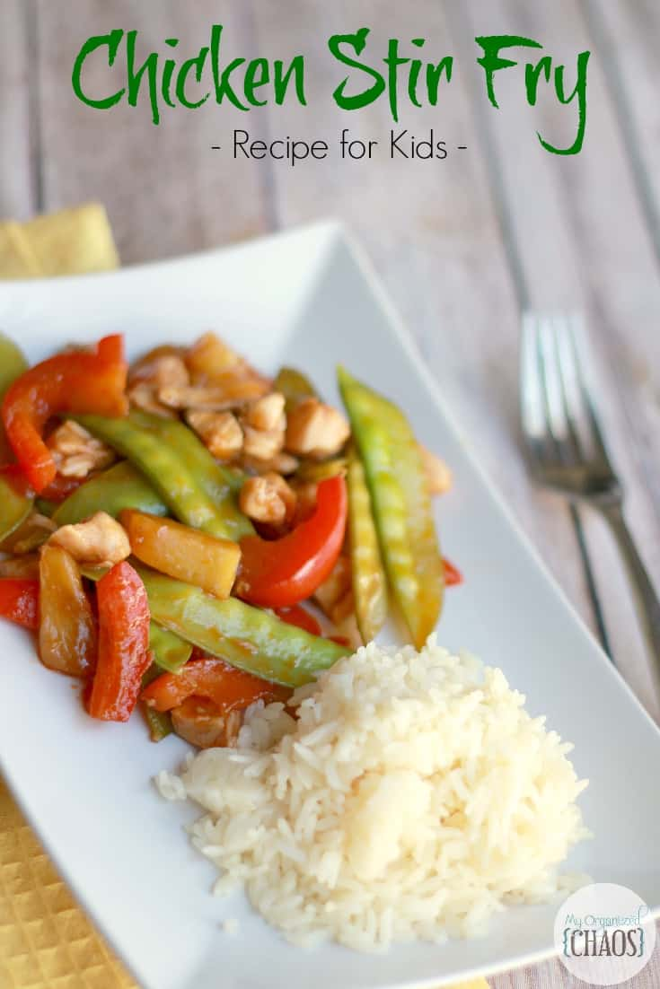 chicken stir fry easy recipe