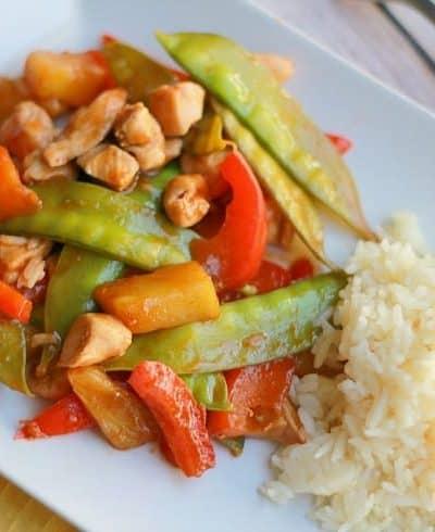 Easy Chicken Stir Fry – Recipe for Kids