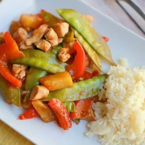Recipes for Kids - Easy Chicken Stir Fry
