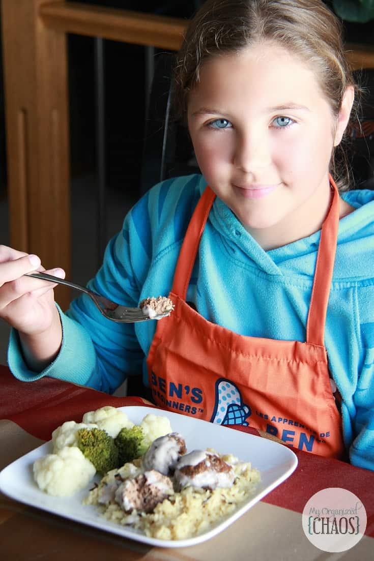 get kids cooking recipe challenge bens beginners
