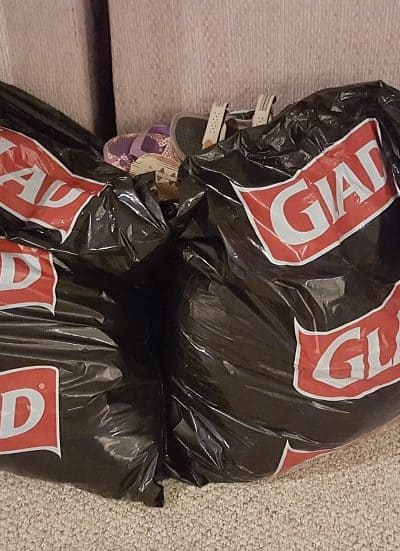 Clear Out Clutter – Glad #Donate4Good Program
