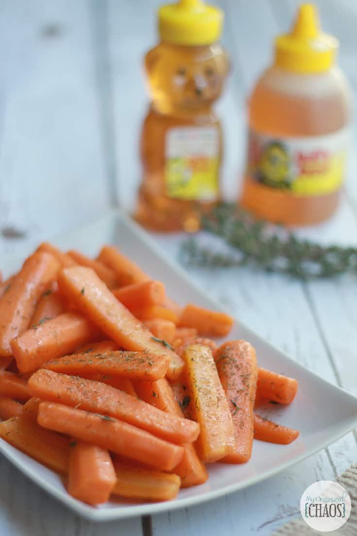glazed carrots recipe billy bee honey