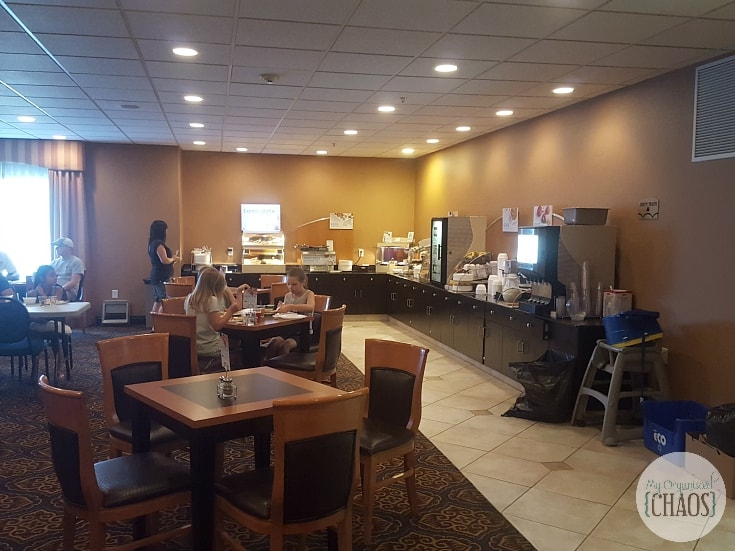 holiday inn express and suites calgary Express Hot Breakfast bar
