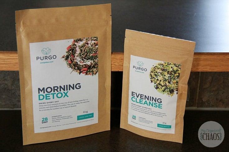 purgo 28 day teatox natural detox