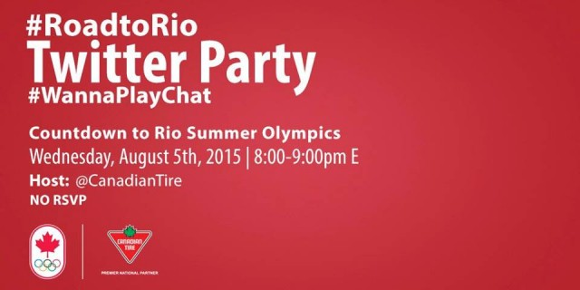 roadtorio twitter party canadian tire