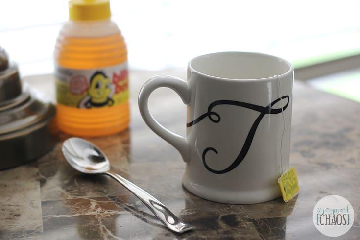 sweeten my tea or coffee with a teaspoon of honey instead of sugar