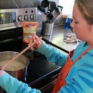 Get Kids Cooking with Ben's Beginners and Win!