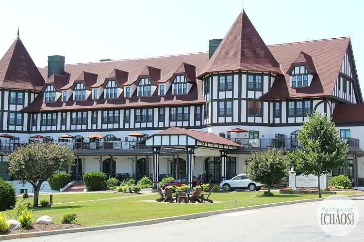 Algonquin Resort family travel review new brunswick