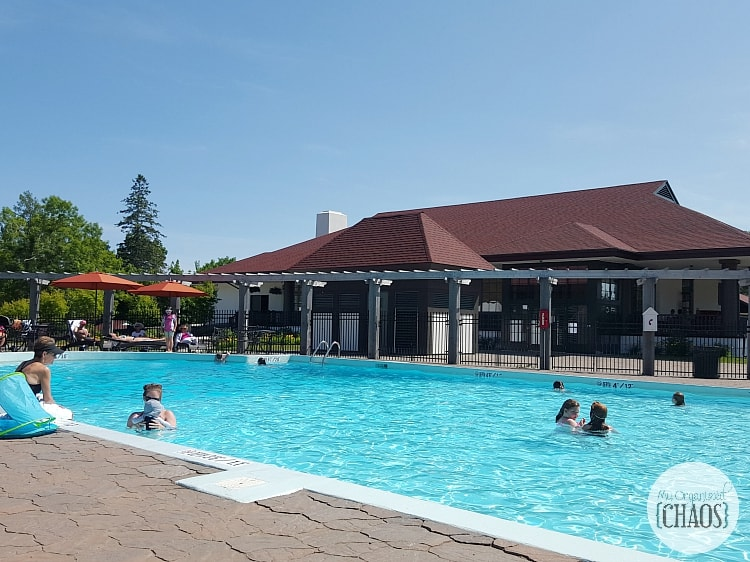 Algonquin Resort outdoor pool new brunswick canada travel review