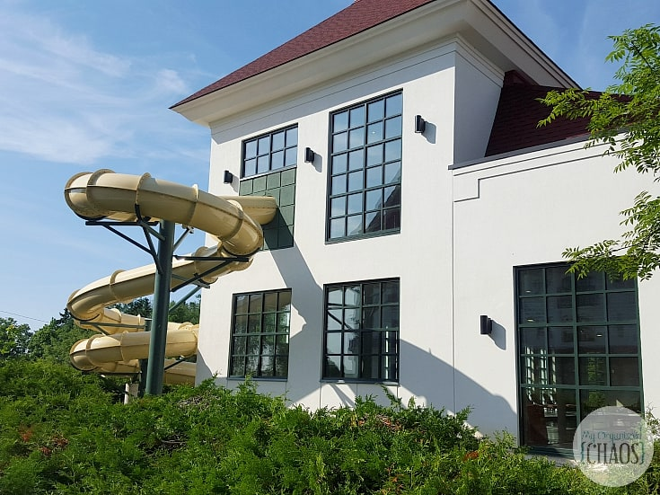 Algonquin Resort travel review indoor pool water slide