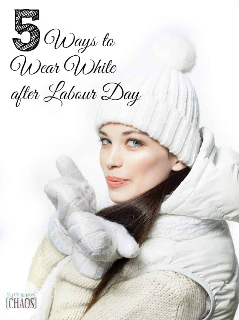 Five Ways to Wear White after Labour Day