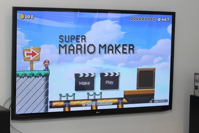 Nintendo Launches Super Mario Maker